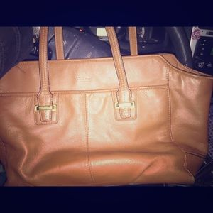 Coach leather Taylor Alexis tote